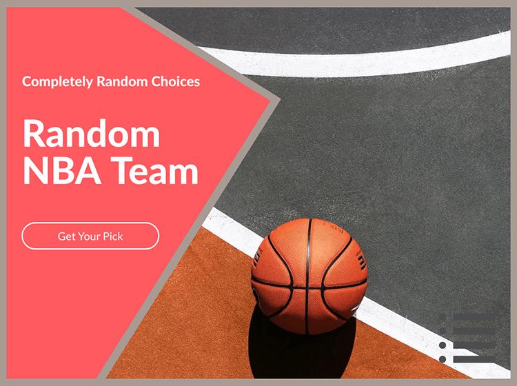 Random NBA Team